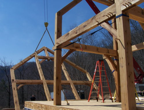 White Oak Frame Pending in Greenbrier County, West Virginia.