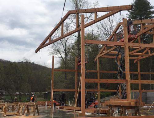 Huge Trusses for Timbercraft